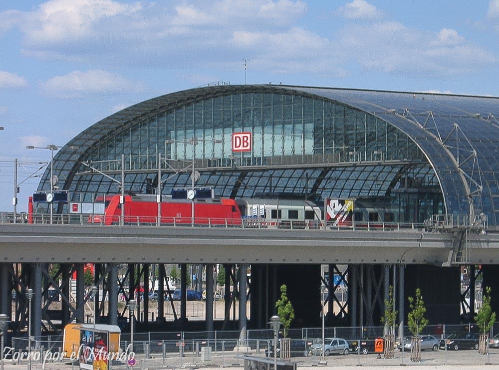 Estación Tren Berlín Zorro Mundo
