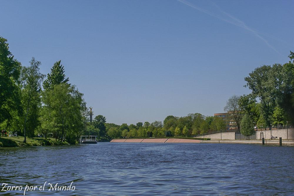 Río Spree en Berlín