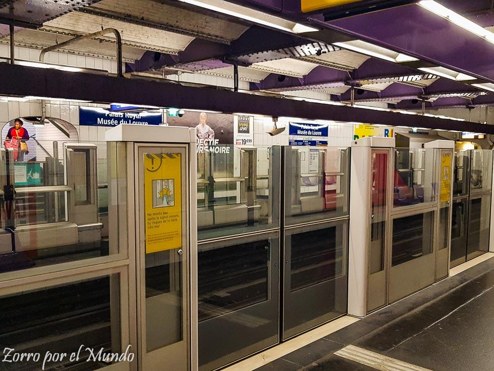 Metro París Zorro Mundo Ahorrar