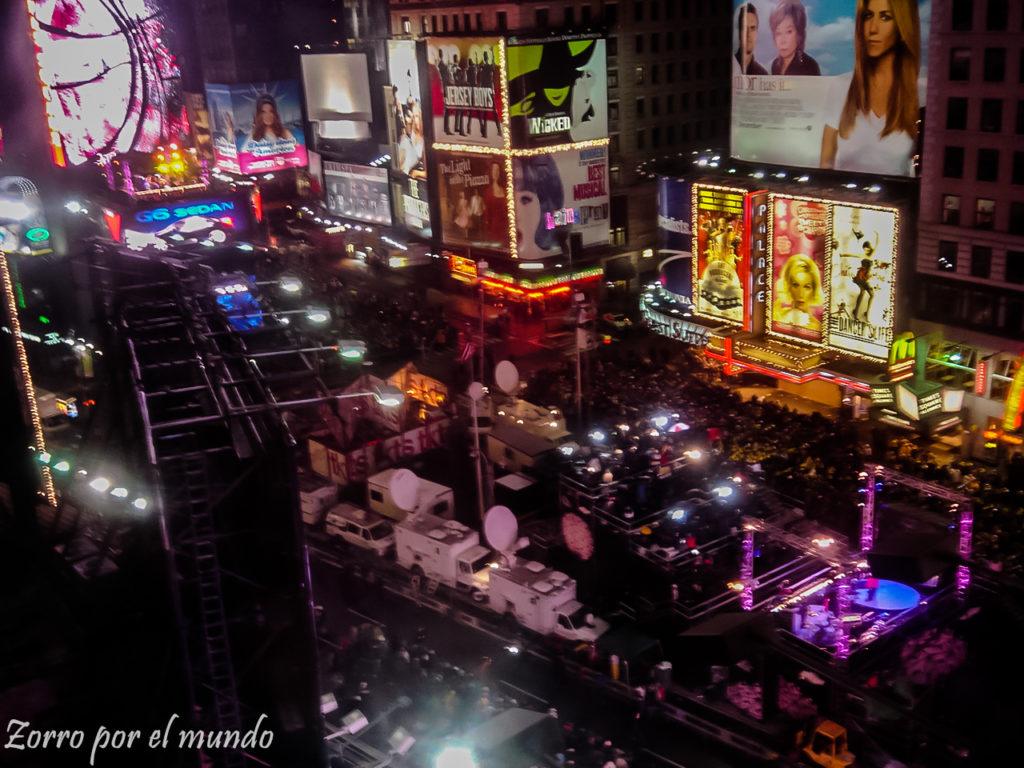 Nueva York Año Nuevo COnsideraciones al planear un viaje