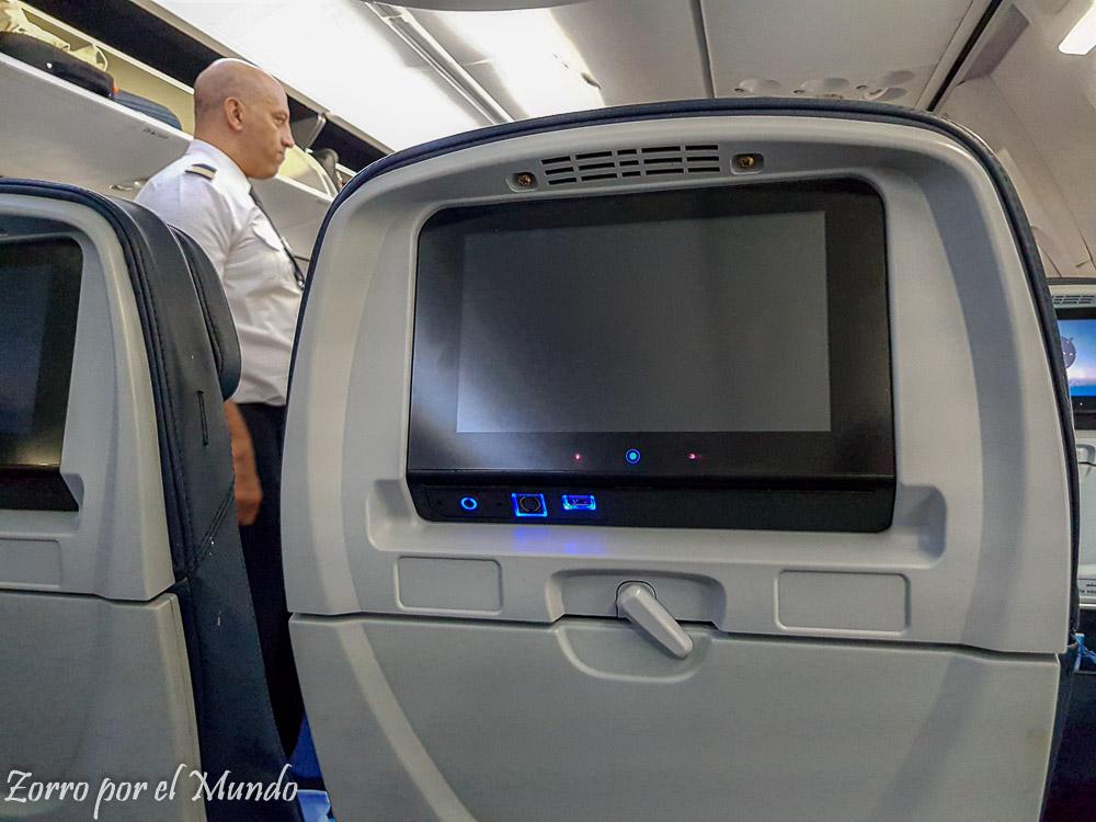 Pantalla Egypt Air