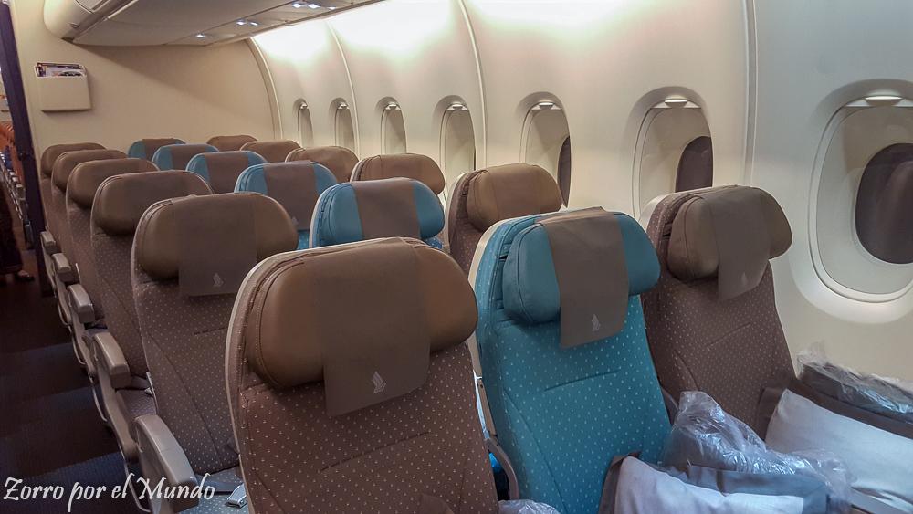 Singapore Airlines Zorro Mundo Ahorrar