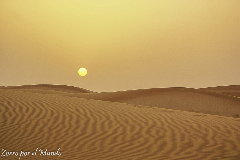 Desierto Emiratos Árabes Unidos