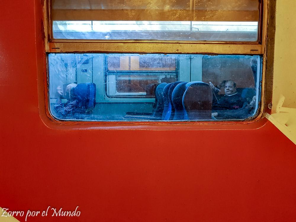 Asientos en Tren