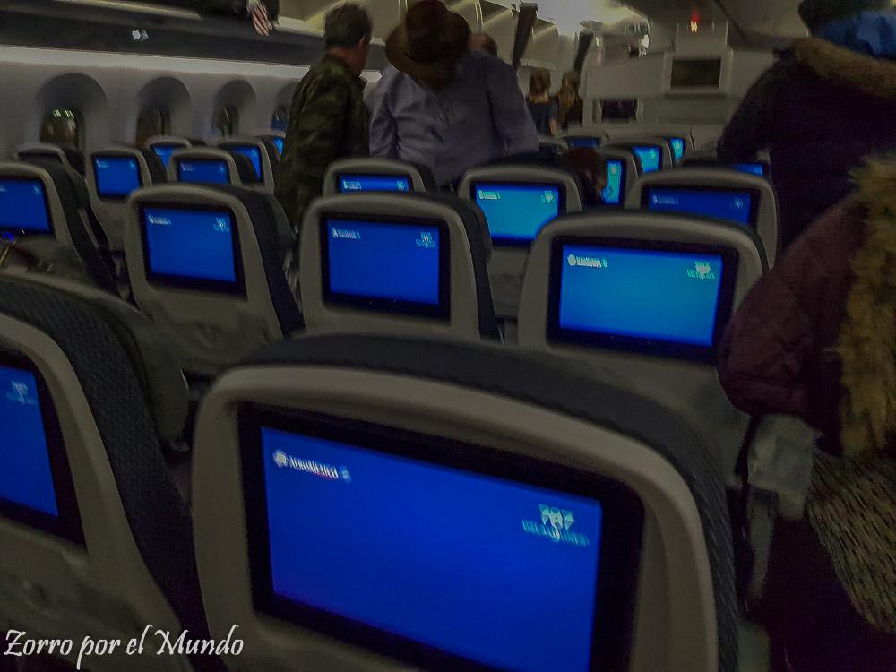 Asientos Aeroméxico Dreamliner 787