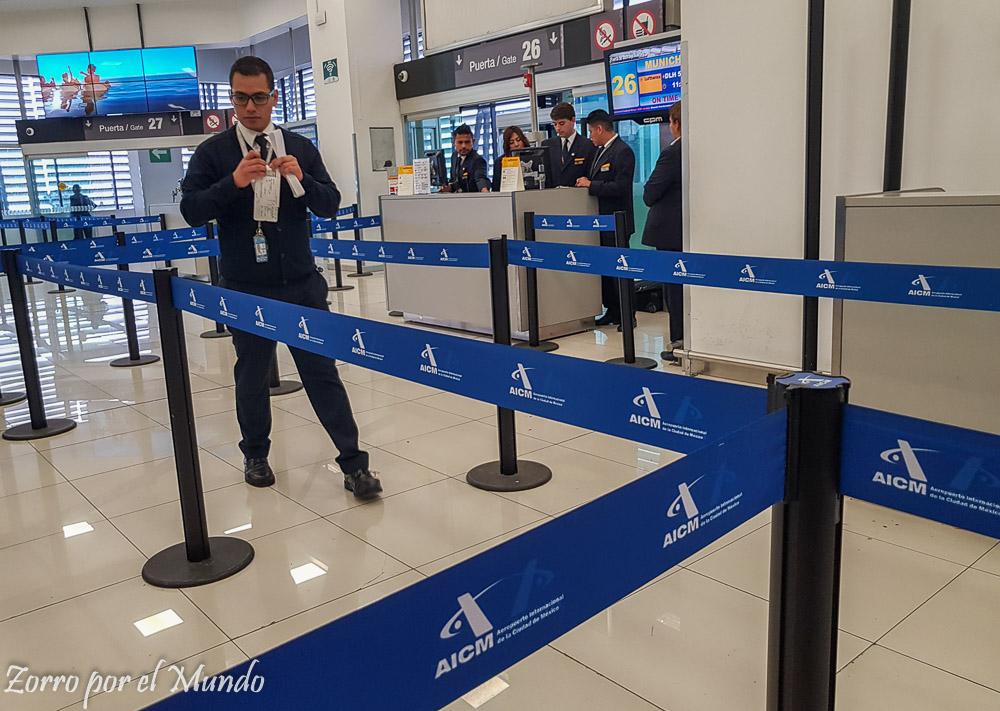 Abordaje Premium Economy Lufthansa