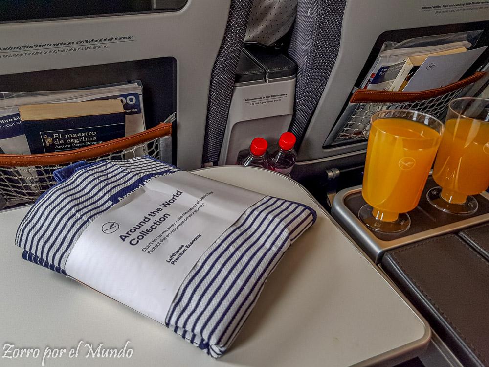 Kit de Lufthansa Premium Economy