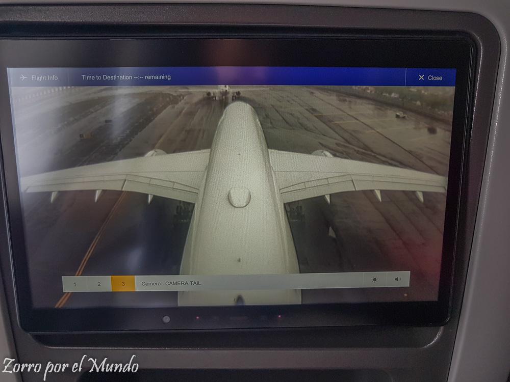 Vista Avión Lufthansa Premium Economy