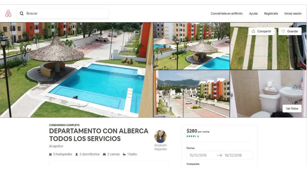 AirBnb Acapulco Hotel vs