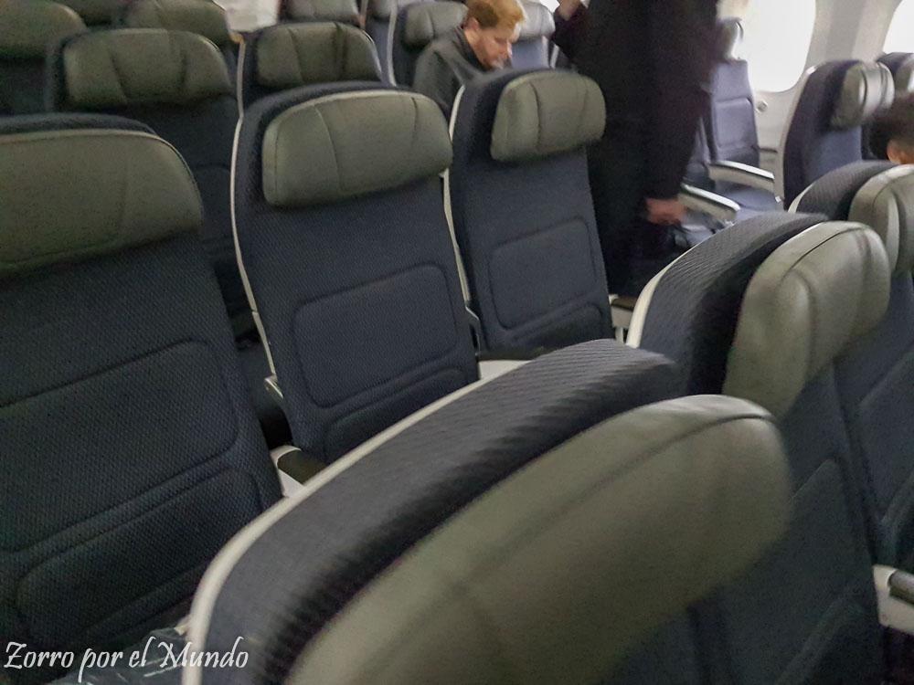 Asientos Clase Económica Aeromexico Boeing 787-9