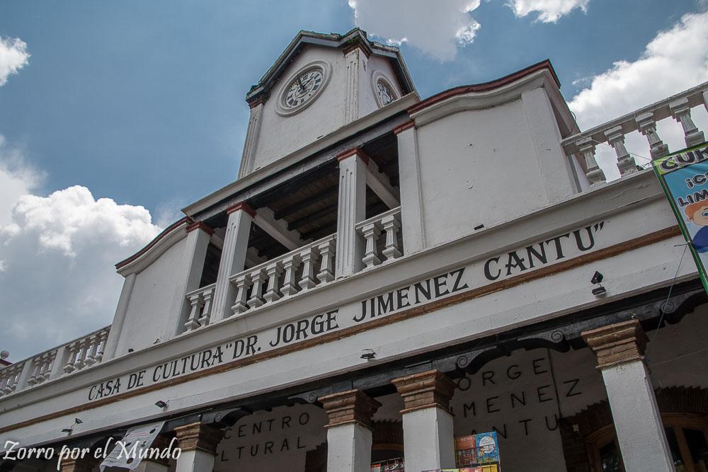 Casa de Cultura Villa del Carbón Jorge Jiménez Cantú