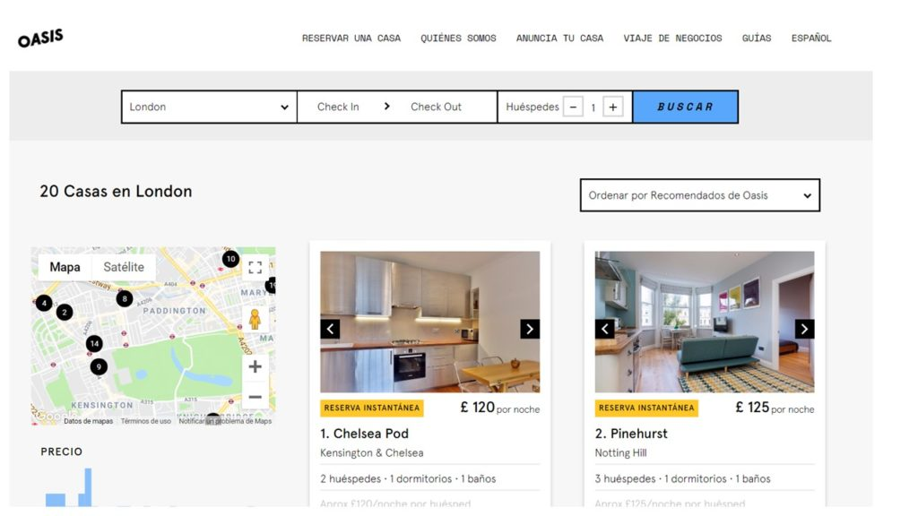 Oasis Hotel vs AirBnb