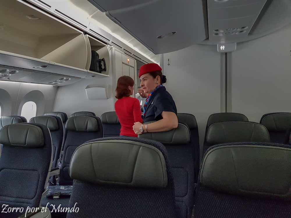 Personal de Aeromexico Boeing 787-9
