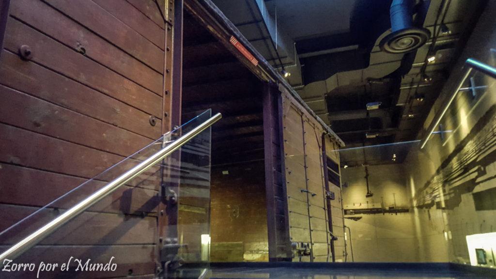 Vagón utilizado durante el Holocausto