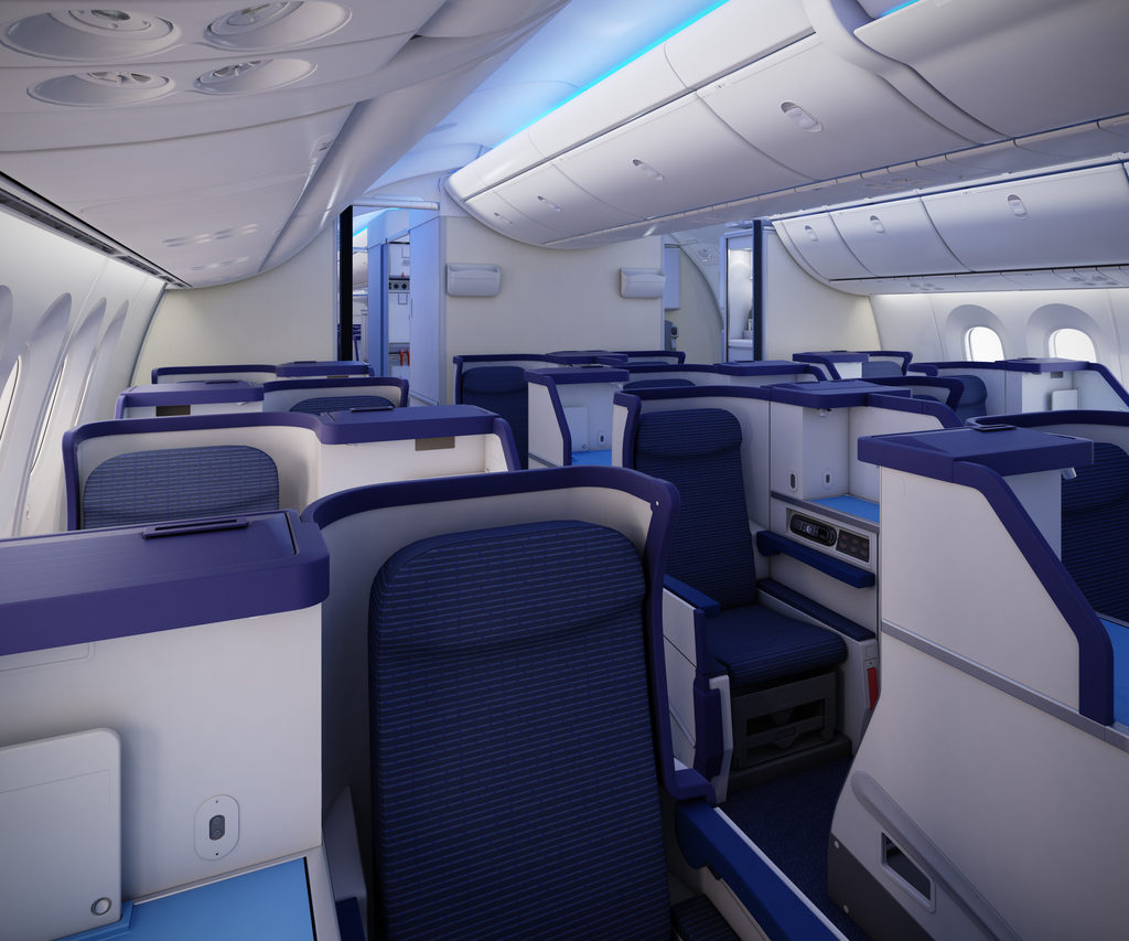 Business Class All Nippon Airways