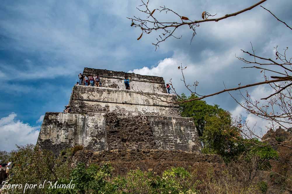 Vista de la base piramidal