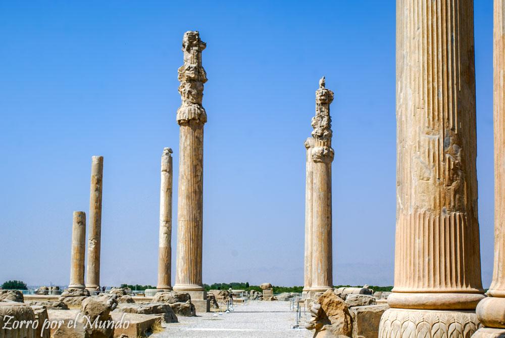 Columnas Palacio Apadana Persépolis