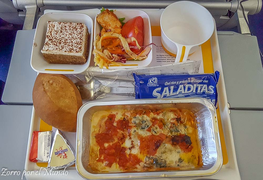 Opción 2: Comida Lufthansa Meal