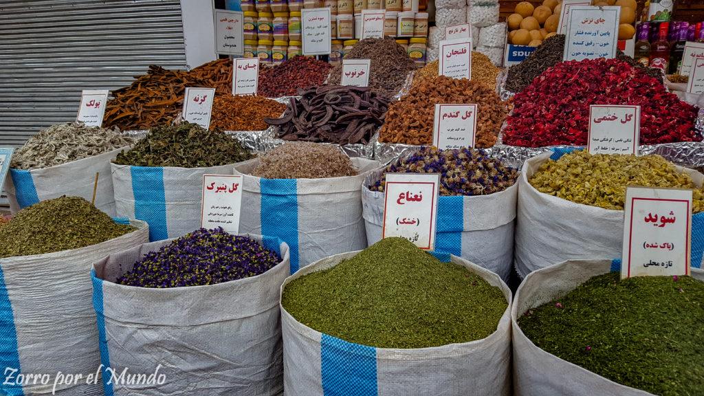 Especias y Tés, Irán