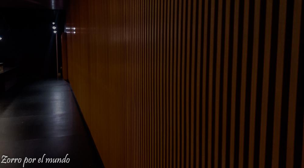 Entrada del salón Premier