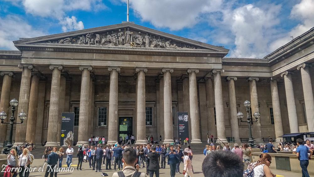 Entrada del British Museum