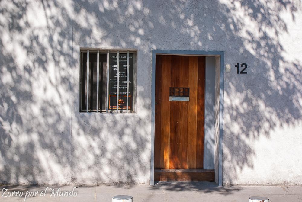 Entrada de la Casa Estudio Luis Barragán