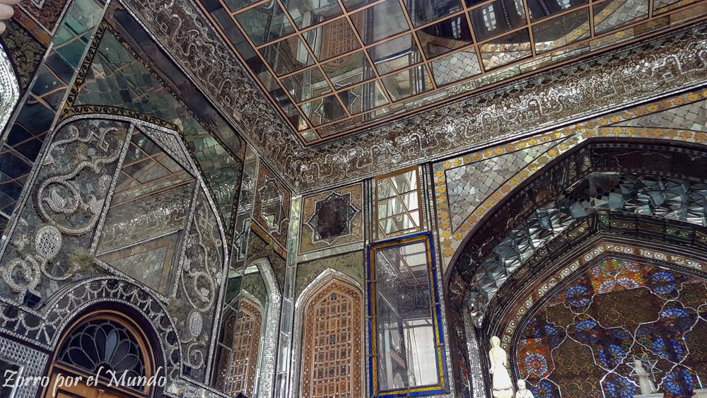 Golestan Palace-Palacio Golestán, en Teheran Irán