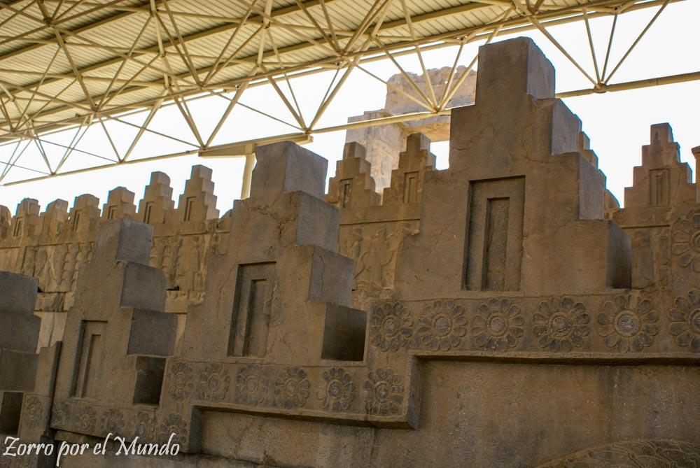 Palacio Hadish en Persépolis