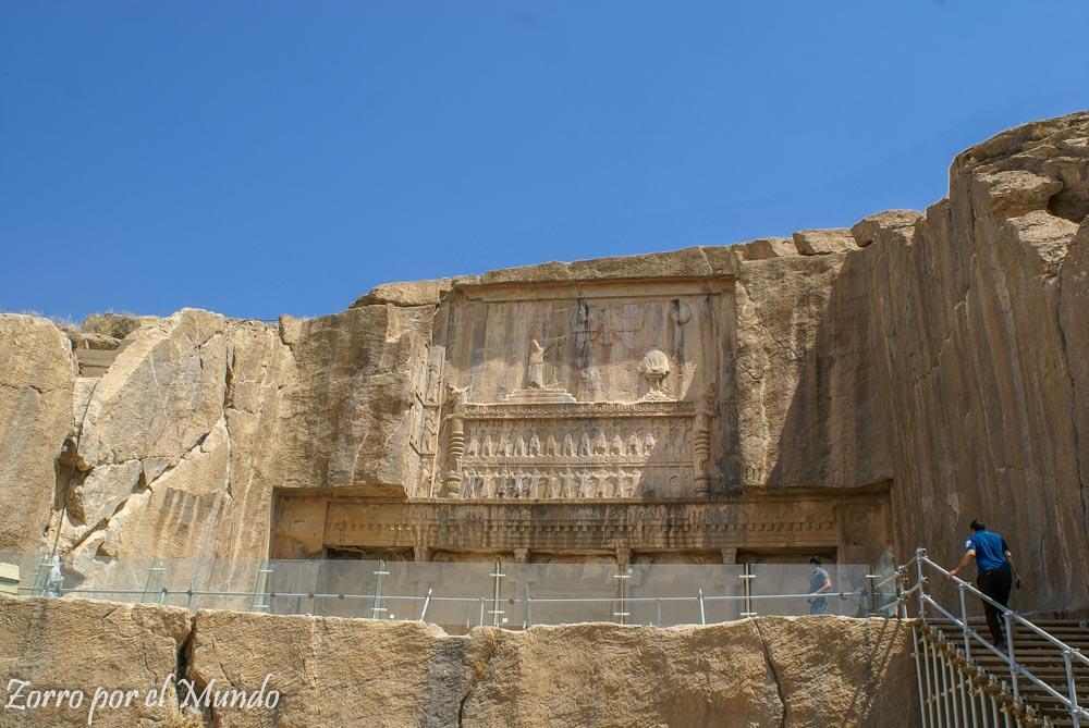 Vista de lejos Persépolis