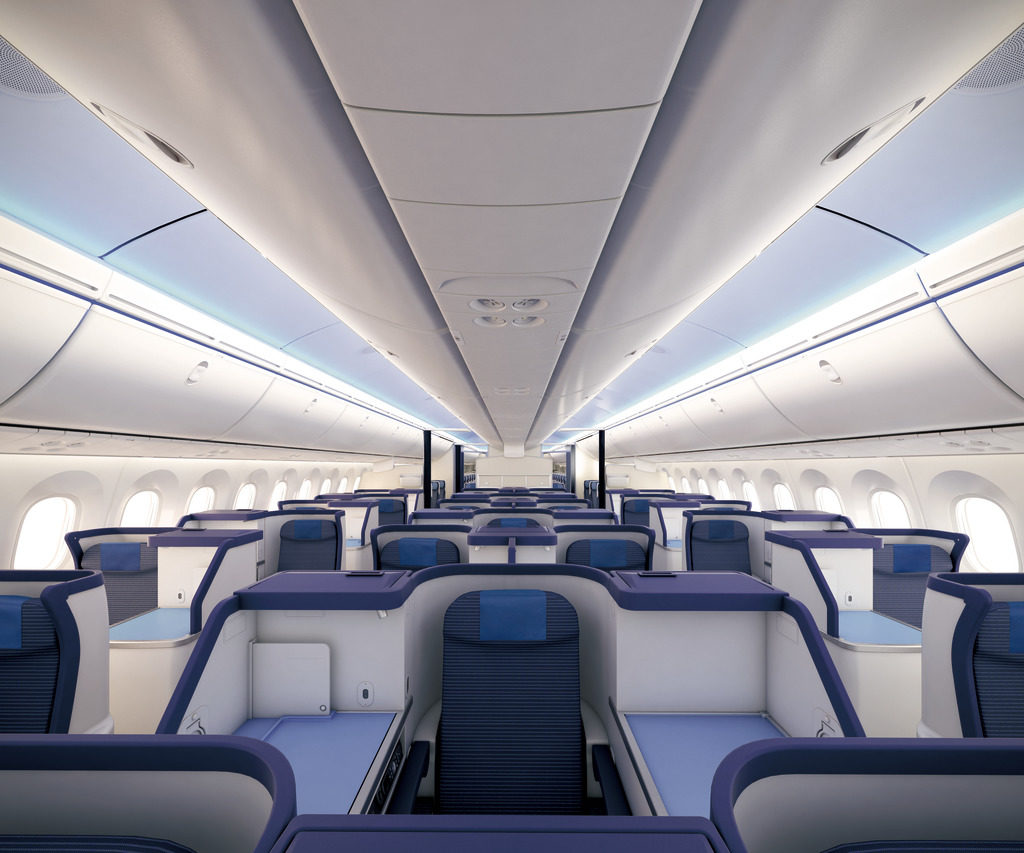 Business Class ANA 787-8 All Nippon Airways