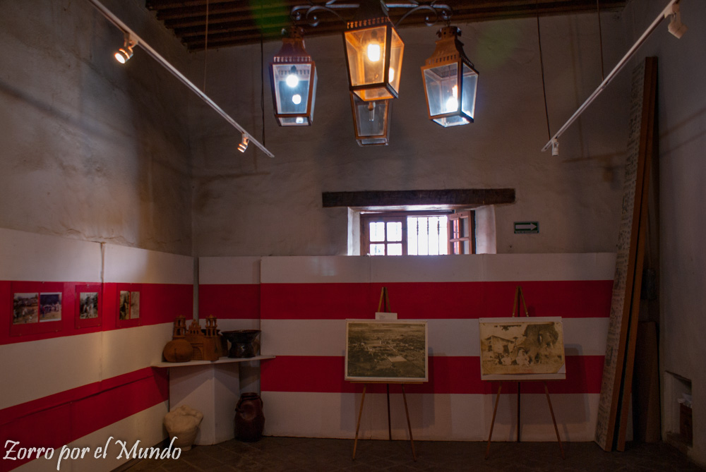 Sala de exhibición de la Cereria Tlayacapan