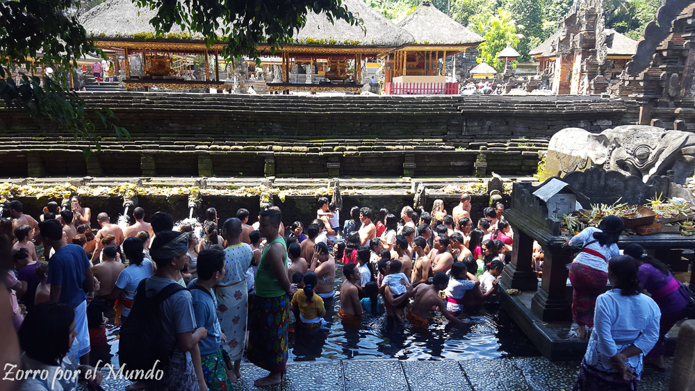 Templo Tirta Empul en Tampaksiring