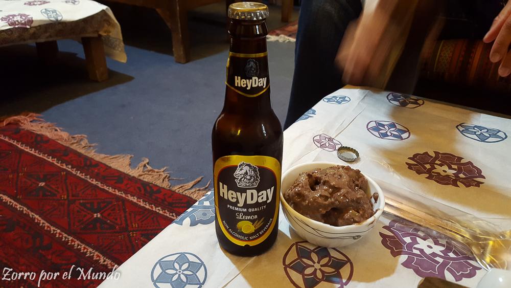 Comida en Qazvin, Irán