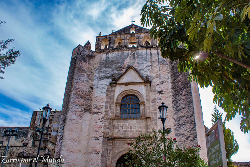 Vista frontal del Antiguo Convento de San Juan Bautista