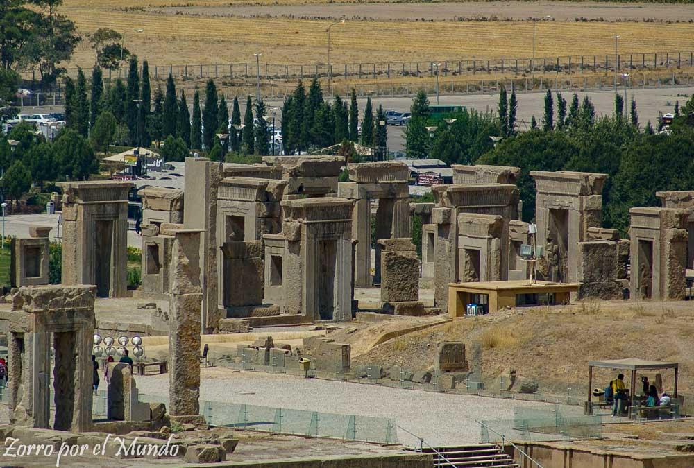 Palacio Tachara Persépolis Irán