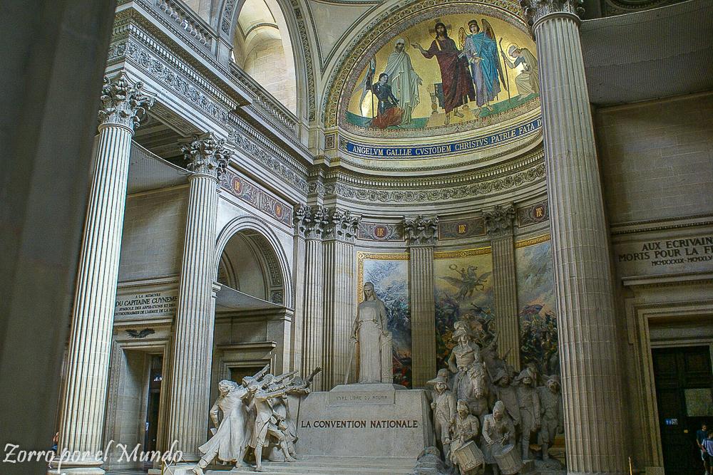 El Panteón, en Paris
