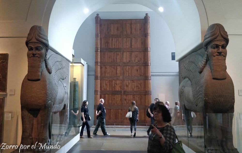 En el British Museum hay obras de todo el mnudo