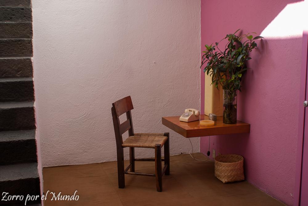Vestíbulo de la Casa Estudio Luis Barragán