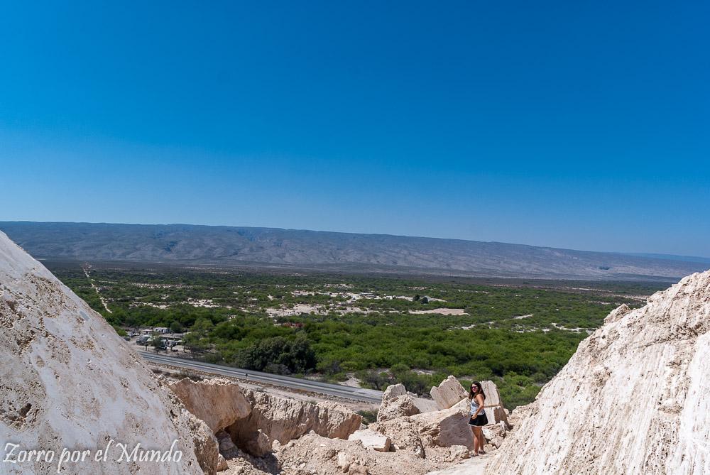 Vistas del valle de Cuatrociénegas