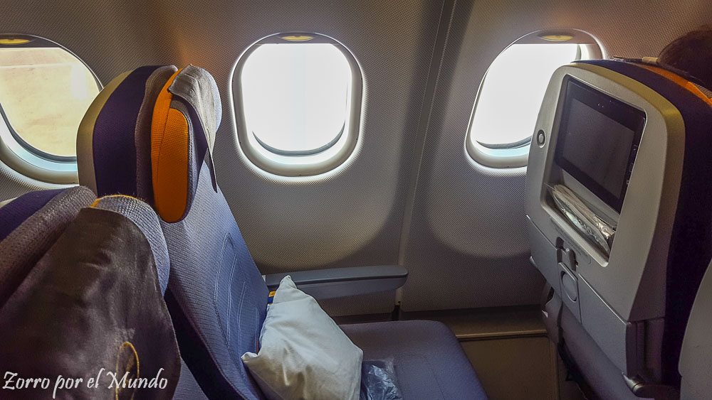 Espacio personal avión