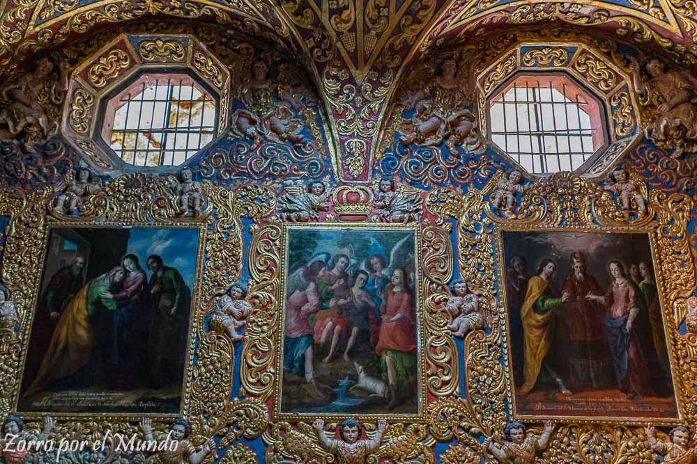 Pinturas Templo
