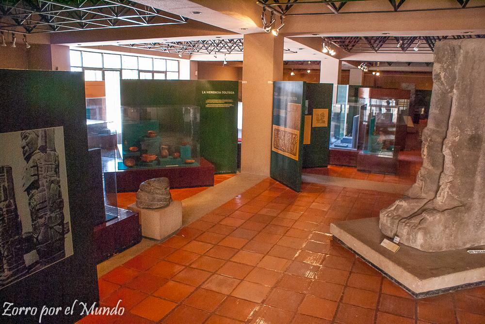 interior del museo Tula
