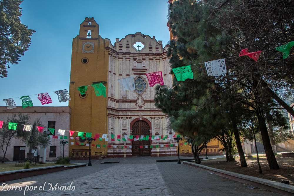 Exterior parroquia de San Juan Bautista