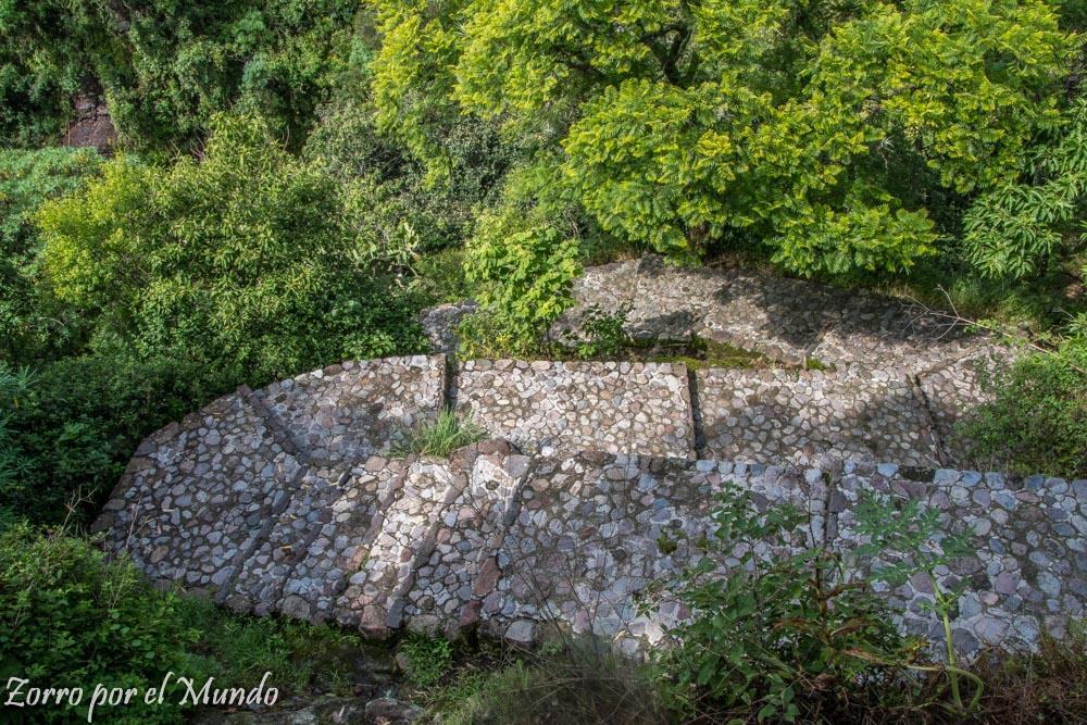 Vista del Valle de Toluca Sitio Arqueológico de Malinalco