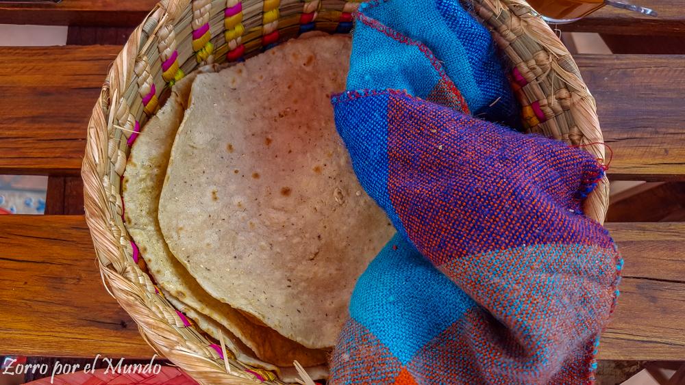Tortillas comer en tlalpujahua