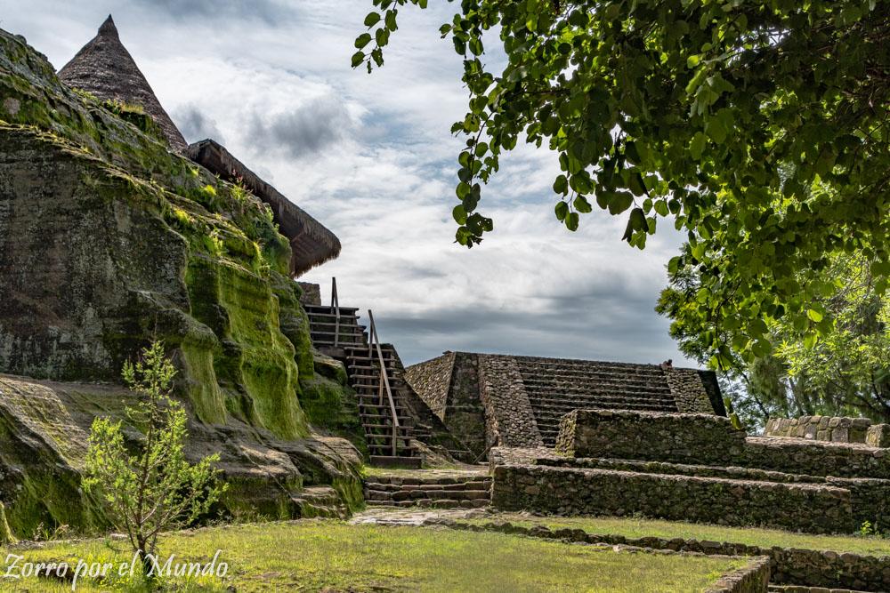 Sitio Arqueológico de Malinalco mexica