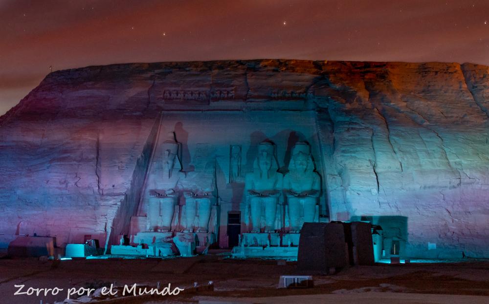 Abu Simbel de noche