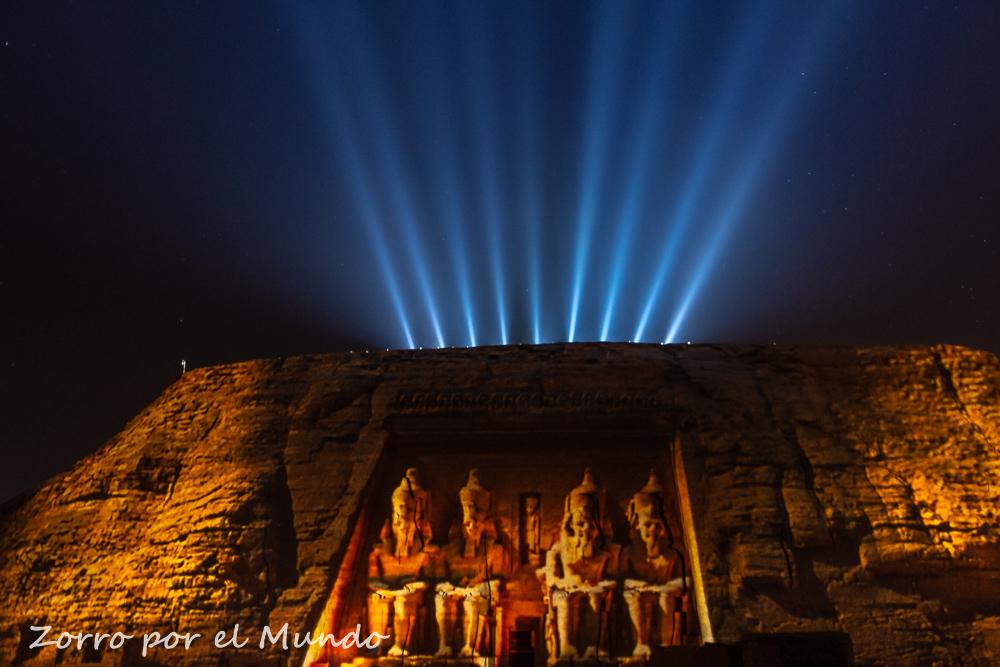 Luz y Sonido Abu Simbel