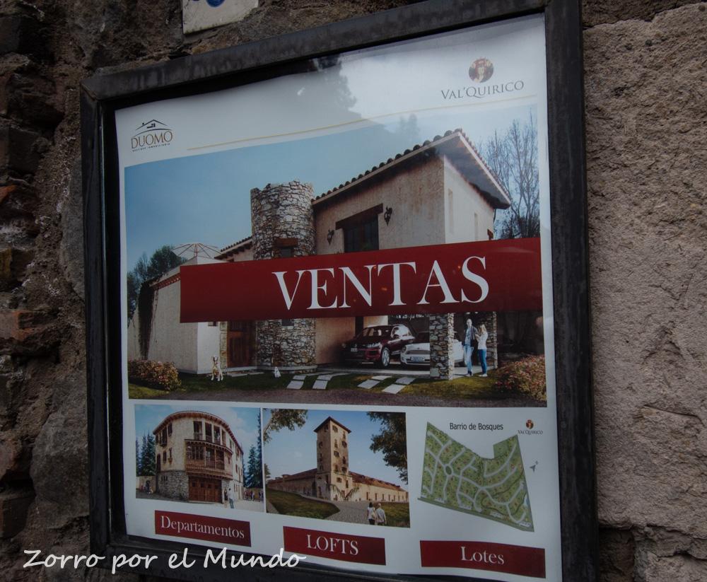 Mucho negocio inmobiliario en Val'Quirico