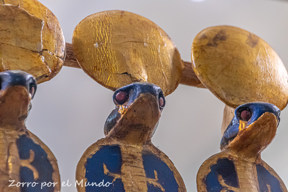 Cobras del Museo Egipcio del Cairo